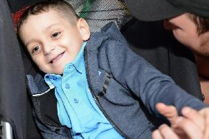 Bradley Lowery at his sixth birthday party. He would have been eight today.