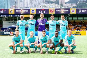 Newcastle United are taking part in the Hong Kong Soccer 7s.