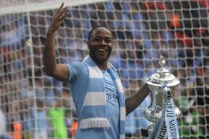 Raheem Sterling is a Treble winner but missed on a hat-trick which would have placed him alongside Stan Mortensen in FA Cup history