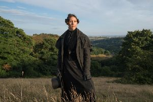 Suranne Jones as Anne Lister. Picture: Lookout Point/HBO - Photographer: Aimee Spinks