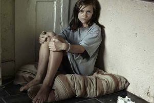 Child poverty is on the increase (image posed by an actress)