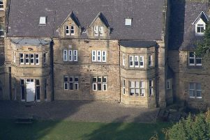 Whorlton Hall in County Durham, where a BBC Panorama programme uncovered staff mocking, taunting, intimidating and repeatedly restraining patients. Pic: BBC/PA Wire.