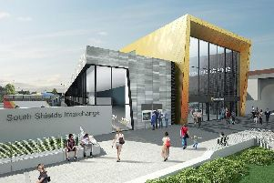 An artist's impression of how the new South Shields Interchange will look