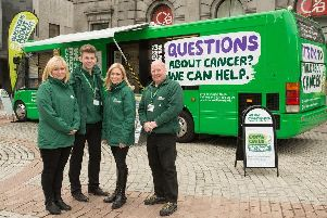 Macmillan bus and team