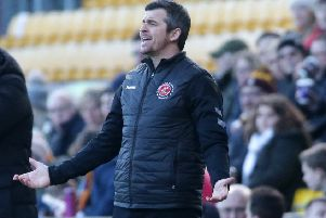 Fleetwood Town boss Joey Barton wants a repeat of the noisy backing his players received at Bradford City