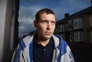 Hartlepool resident Graham is forced to resort to shoplifting to survive. 'Image by Channel 4.