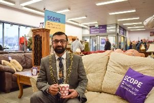 Civic mayor, Councillor Majid Kahn at Home by Scope