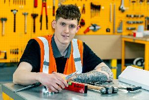 Amazon James Varley, Apprentice LBA2 at work in the FC and workshop