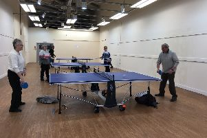 Anyone for (table) tennis?