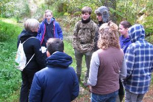 The New Naturalist Education Programme is delivered by experienced rangers and amateur naturalists.