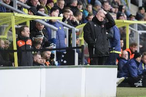 Blackpool's match at Burton was unpleasant viewing for Terry McPhillips