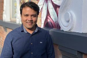 Masud Rana, the owner and developer behind the new restaurant