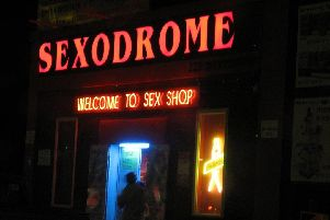 The new rules will also apply to sex shops