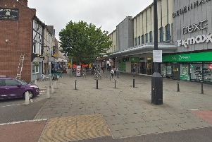 Frenchgate connects Church Way with St Sepulchre Gate.