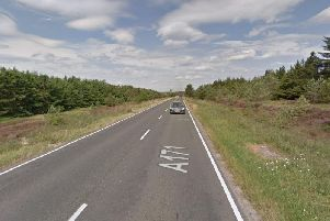 A motorcyclist, 49, has died following a three vehicle crash on the A171 between Scarborough and Whitby.