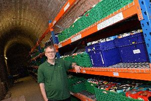 Mark Snelson,  of the Doncaster Foodbank.
