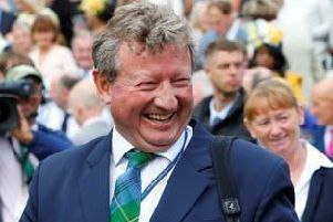 Mark Johnston, who saddles Dark Vision in the Qipco 2000 Guineas.
