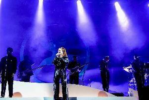Jess Glynne kicks off Doncaster Racecourses summer of live music .