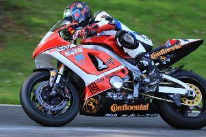 Mirfield's Ryan Strafford will battle it out with rival Kieran Smith to become GP1 Classic Superbikes when the final round takes place at Oulton Park on October 18 and 19. Picture: Kerry Rawson.