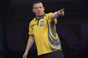 Dave Chisnall. Picture: Lawrence Lustig