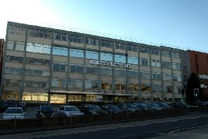 The Fox's Biscuits factory in Batley, on Wellington Street