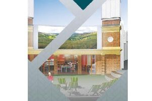 An artist's impression of the new 'big screen'.