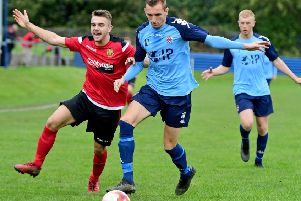 Oliver Fearon put Liversedge ahead but it was not enough to prevent a 2-1 defeat at Hemsworth last Saturday.