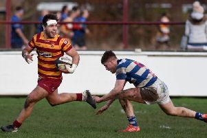 Connor Wilkinson scored three of Fylde's 10 tries at Stourbrdge