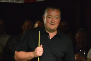 Wayne Cooper has reached the World Seniors Masters final to be held at Alexandra Palace in May,
