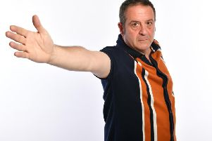 Mark Thomas who is appearing at Theatre Royal Wakefield in March