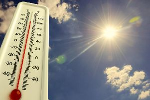 In general, the temperature will begin to increase on Thursday, reaching averages of around 20C for the remainder of the week, with sunny intervals and some light showers