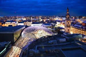Trinity Leeds and White Rose Shopping Centre will be turning their roofs green tomorrow in support of World Environment Day