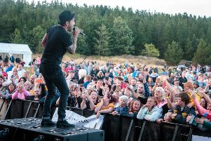Matt Cardle performs at the Northumberland Live at Bedlington Festival. Pictures by Northumberland Live
