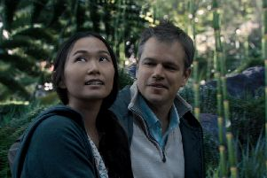 Matt Damon stars in Downsizing.