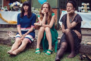 Alison (Eileen Walsh), Laura (Kerry Condon) and Katie (Nina Sosanya).