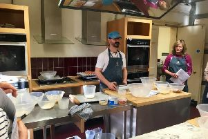 Emmanuel Hadjiandreou begins his Christmas Baking course
