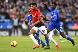 Marcus Rashford is set for a big pay rise.  (Photo by Michael Regan/Getty Images)