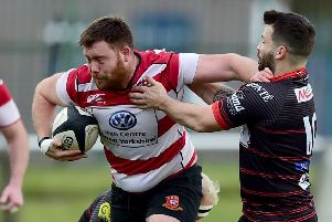 Ryan Piercy crashed over for an early second  half try but it wasn't enough to prevent Cleckheaton slipping to defeat in North One East last Saturday.