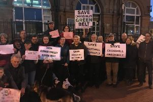 Campaigners have been fighting to protect  green belt land