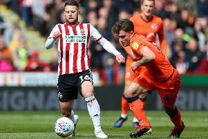 Oliver Norwood of Sheffield United. Picture: James Wilson/Sportimage