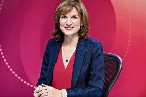 Fiona Bruce, chair of BBC Question Time.