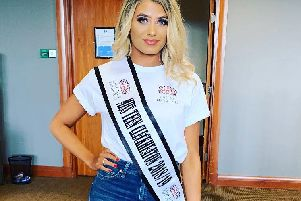 Hanna Hudson, 16, will take to the catwalk at the 'Miss International Rose' modelling competition later this year.