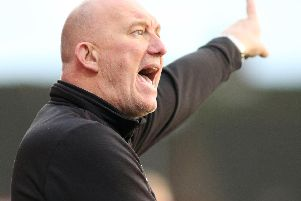 Billy Heath was happy with Alfreton's performance in the 1-1 draw with Derby County.