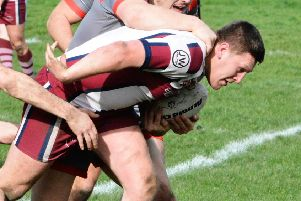 Casey Johnson was Thornhill's man-of-the-natch in their narrow defeat to Hunslet Club Parkside.