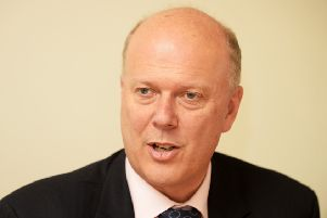 Former Transport Secretary Chris Grayling. Picture Bruce Rollinson