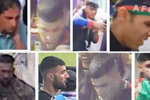 Police want to speak to these 8 men - do you recognise anyone?
