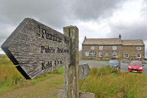 Tan Hill Inn, at 1,732 feet above sea level, is the UKs highest pub. Picture by Tony Johnson.