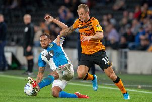 Hull City's Kamil Grosicki.  Picture: Bruce Rollinson