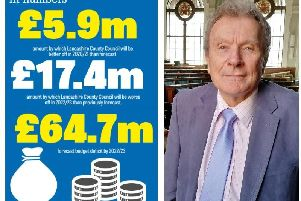 Lancashire County Council sets aside 400,000 for consultants