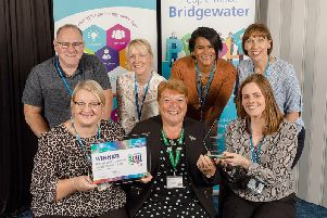 North West Driving Assessement Service team with Lynne Carter, Chief Nurse and'Director of Operations, Bridgewater Community Healthcare NHS Foundation Trust
